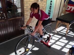 Bike Fit grande pågår